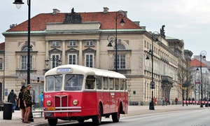 Adventure Warsaw: Wycieczki Bus(z)owanie po Warszawie: bilet od 12,99 zł z Adventure Warsaw (do -32%)