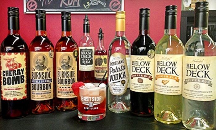 Eastside Distilling - Hosford - Abernethy: Distillery Tour for Two, Four, or Six with Tasting and Truffles or Take-Home Glasses at Eastside Distilling (60% Off)