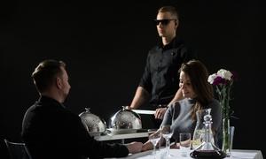 Kolacja w ciemności od 129 zł w restauracji Different