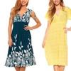 Women's Knee-Length Dress. Plus Sizes Available.