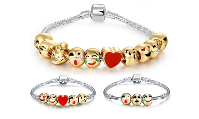 Sensual Sale: From $12 for an Emoji Bracelet