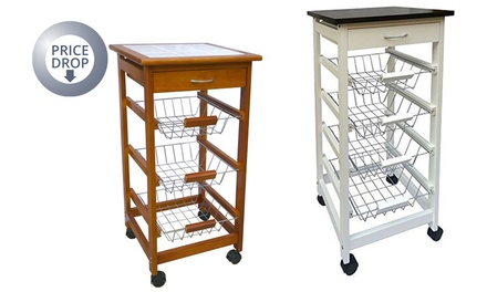 chef vida kitchen trolley