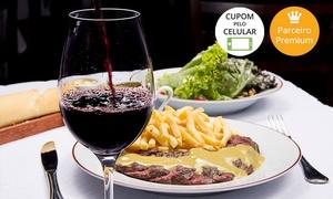 L'Entrecôte de Paris - Alphaville: L'Entrecôte de Paris - Alphaville: salada + L'Entrecôte + 1 sobremesa para 2 (opção com queijos ou vinho)