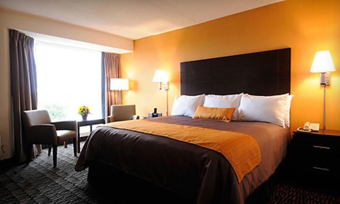 Ramada Plaza Niagara Falls - Niagara Falls: $119 for Two Nights for Two with Dining, Wine Tasting, and Casino Gaming at Ramada Plaza Niagara Falls ($293.18 Value)