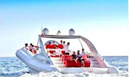 Excursión de 3 horas en barco para 2 con comida y bebida con Water Sports Tenerife (hasta 46% de descuento)