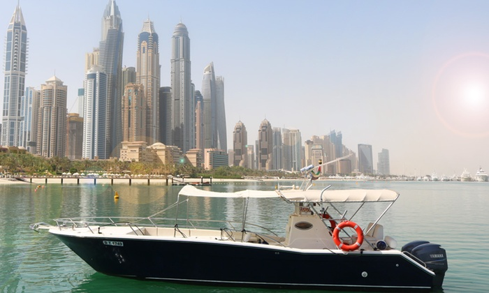 Asfar Renting Boats and Cruise Ships - Dubai: 90-Minute Boat Tour for One Child or Up to Four Adults with Asfar Renting Boats and Cruise Ships (Up to 55% Off)