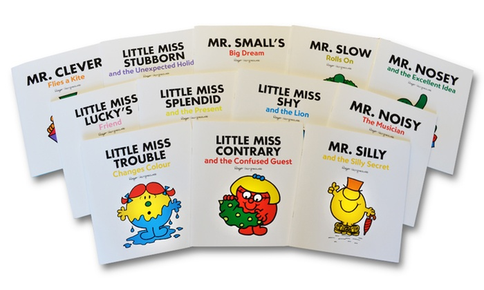 Image result for little mr and miss books