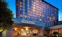 Stay with Optional Parking at Sheraton Dallas Hotel By The Galleria in Texas. Dates into April 2019.