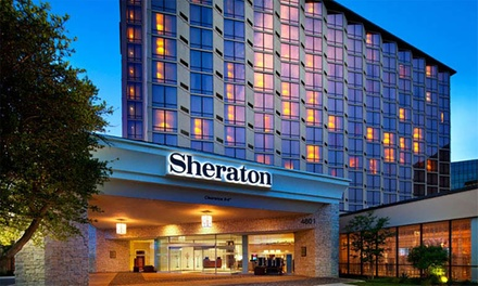 Stay with Optional Parking at Sheraton Dallas Hotel By The Galleria in Texas. Dates into January 2019.