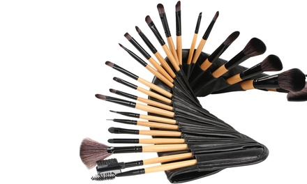 24 Make-up-Pinsel inklusive Etui (18% sparen*)