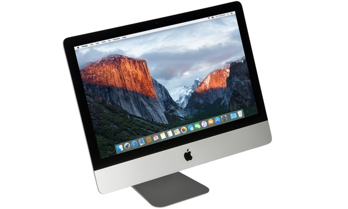 Apple Imac 21 5 All In One Computer Refurbished Groupon