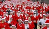 Up to 39% Off Santa Hustle 5K or Half Marathon Registrations