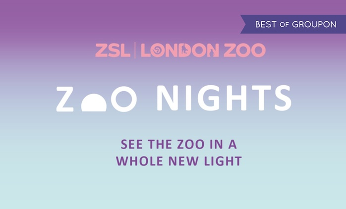Zoo Nights on 9 - 14 July at London Zoo (Up to 14% Off)
