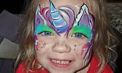 image for C$78 for One-Hour Face Painting Party for Up to 15 Kids from Kreative Mum (C$120 Value)