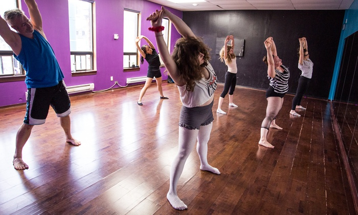 The Toronto School of Burlesque - Toronto: 10 Drop-In Burlesque Classes or Month of Unlimited Classes at The Toronto School of Burlesque (Up to 58% Off)