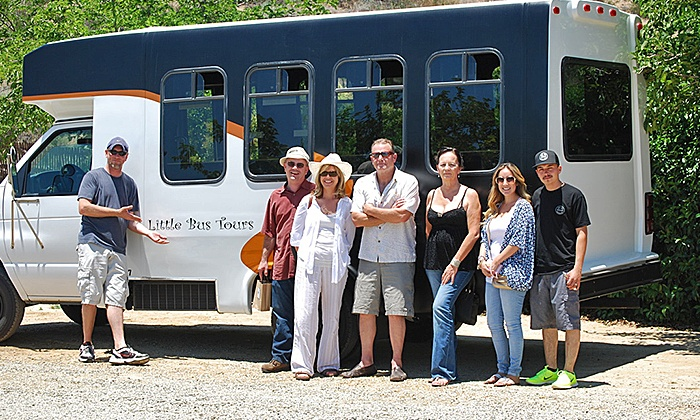Little Bus Tours - Multiple Locations: Wine Tour for One, Two, of Four People from Little Bus Tours (Up to 60% Off)