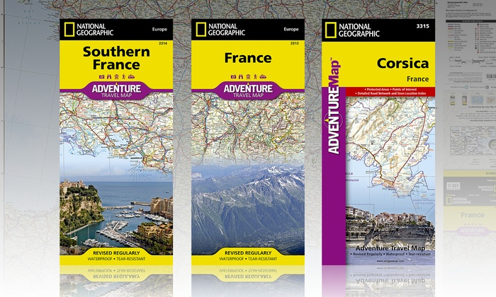 National Geographic Travel Maps Groupon Goods - National geographic travel map