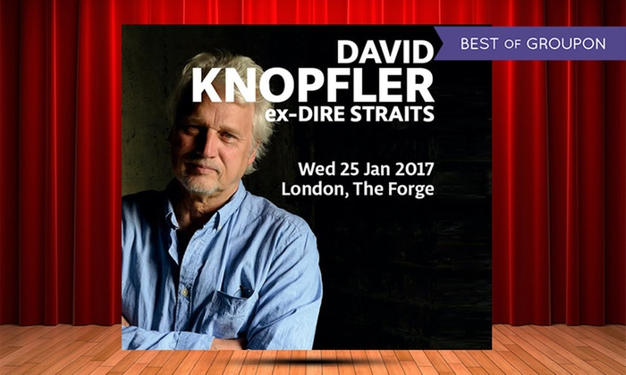 AGMP - The Forge: David Knopfler, 25 January 2017 at The Forge (Up to 14% Off)