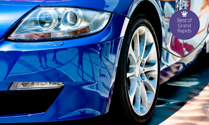 Waterworks Carwash - Northeast Grand Rapids: $24.99 for One Gold Wash and Two The Works Washes at Waterworks Car Wash (Up to $48.99 Value)