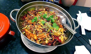 Sizzling Pot King: Chinese-Style Spicy Incense Pot and Drinks for Two or Four at Sizzling Pot King (40% Off)