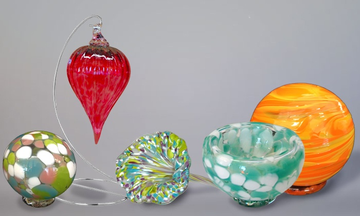 Live Laugh Love Art: Glass-Blowing Workshop at Live Laugh Love Art  ages 5 and up (Up to 49% Off)