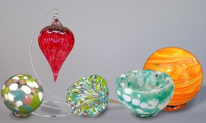Live Laugh Love Glass: Glass-Blowing Workshop at Live Laugh Love Glass  ages 5 and up (Up to 40% Off)