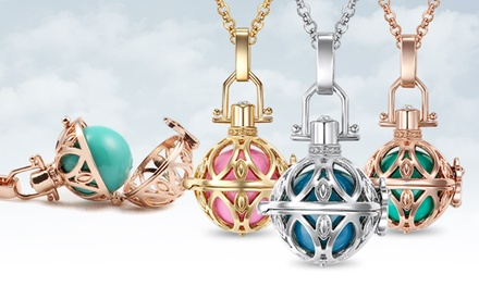 Teardrop Sphere Necklace in Rose Gold, Silver, or Gold (71% Off)