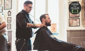 Barber Room – Botafogo: Corte de cabelo (opção com barbaterapia) na Barber Room – Botafogo