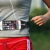 Hands-Free Running Belt with Touchscreen Window