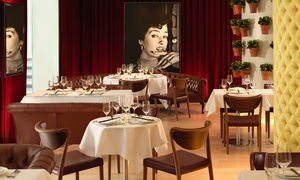 Asia de Cuba: Nine or Ten Dish Signature Menu with Champagne at 5* Asia de Cuba in Covent Garden, St. Martin's Lane Hotel (25% Off)