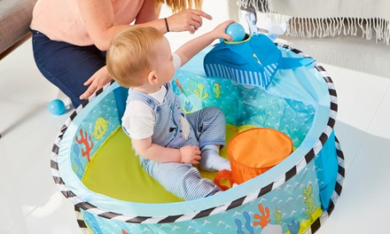 Piscina para jugar con 3 bolas para niños