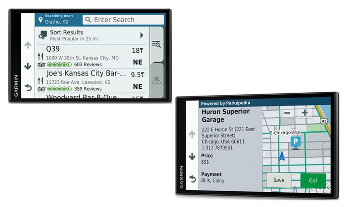 Garmin Drivesmart 61 LMT North American Maps with Smart Features