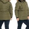 Women's Plus-Size Winter Jacket with Sherpa-Lined, Faux-Fur Hood (2XL)
