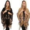 Gilbin's Women's Plaid Blanket Scarf with Hood