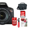 Canon EOS Rebel T6i 24.2MP DSLR Camera Bundle (6-Piece)