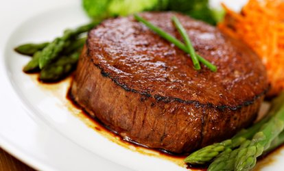 Steak-House Cuisine for Two or Four at Macleay Country Inn (52% Off)