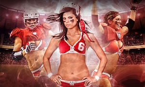Legends Football League: Omaha Heart Legends Football League Game for One or Four at Ralston Arena on Saturday, August 8 (Up to 52% Off)