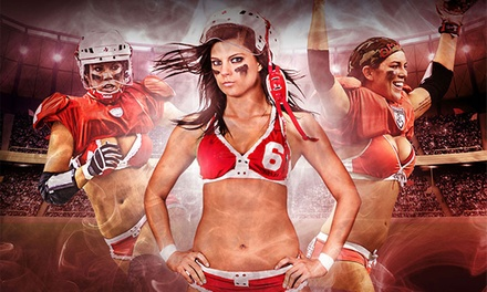 Omaha Heart Legends Football League Game for One or Four at Ralston Arena on Saturday, August 8 (Up to 52% Off)