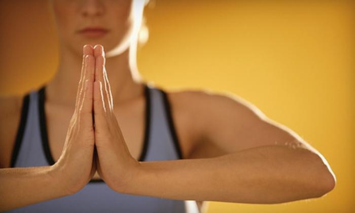 Divine Power Yoga - Naperville: 1 Drop-In Yoga Class (a $15 value)