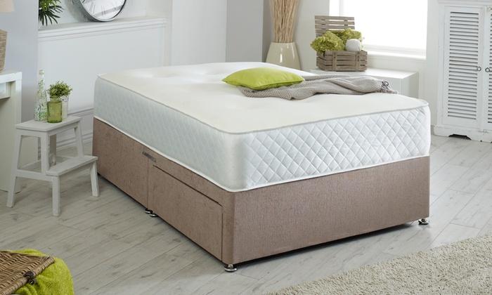 High-Density Spring Memory Foam Mattress from £130