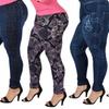 Women's Plus-Size Dark Wash Jeggings