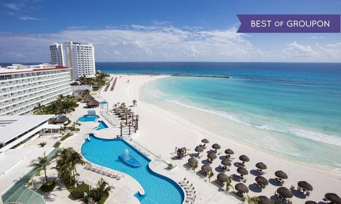 Beachfront Resort in Cancún