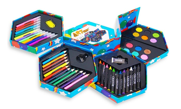 One or Two 52-Piece Craft Art Stationery Boxes for £6.98