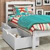 Manhattan Comfort Hayden Twin Storage Bed with Drawers