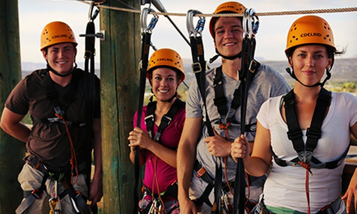 Predator Zip Line - Camp Verde: Safari Zipline Tour for One with a Photo at Predator Zip Line (Up to 45% Off). Two Options Available.