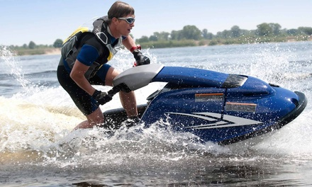 One-Hour Jet Ski Lesson for One or Two with Jetski Safari Loch Lomond (51% Off)