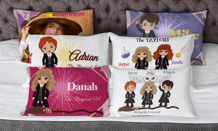 Personalized Wizard Pillowcases fro Printerpix (Up to 91% Off)
