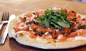 Corner Pizza: Pizza, Sandwiches, and More at Corner Pizza Roswell (Up to 50% Off). Two Options Available.