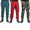 Dirty Robbers Men's Button-Cuff Joggers