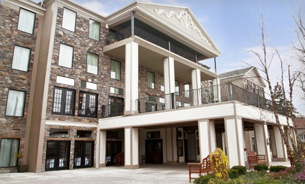 1-Night Stay for Two with Dining and Spa Credits at Barton Hill Hotel & Spa in Lewiston, NY. Combine Up to 2 Nights.